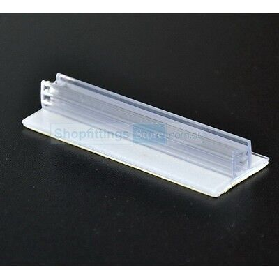 30 x Super T Grip Sign and Price Holder 75mm