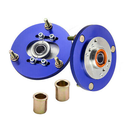 Adj Camber Plates Top Mounts for BMW E36 3 Series M3 318i 323i Green Pair AMM