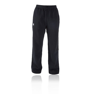 Canterbury Combination Sweat Mens Black Long Track Sports Pants Bottoms