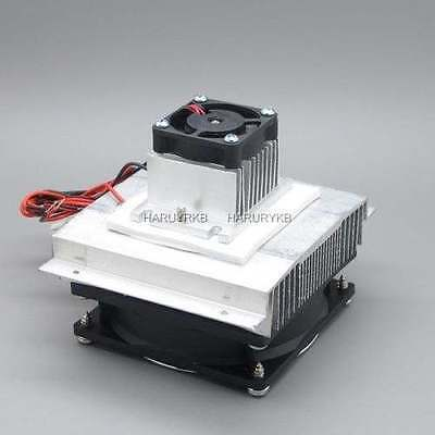 Thermoelectric Peltier Refrigeration air Cooling System Cooler fan TEC1-12706