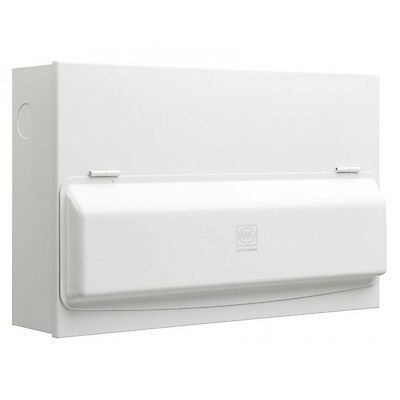 MK Sentry Amendment 3 15W Dual RCD Fuseboard &12 MCBs Loaded Metal Consumer Unit