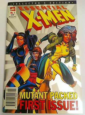 Essential X-Men 1 Marvel 1995 1st Issue Collectors Edition Scarce Variant gold c