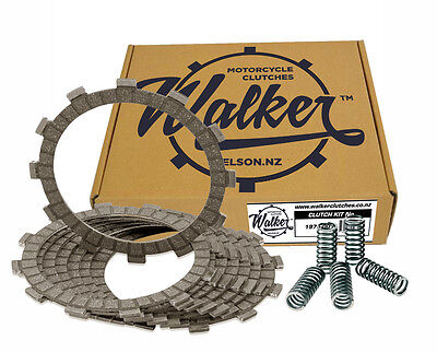 Walker Clutch Friction Plates & Springs Kawasaki ZXR750 H H1 H2 89-90