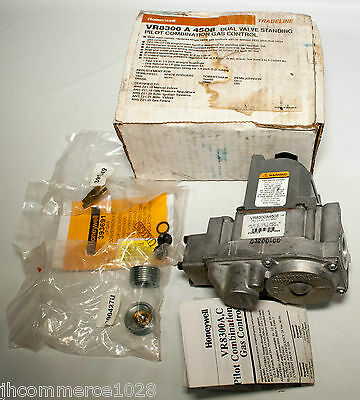 Honeywell VR8300A 4508 Dual Valve Standing Pilot Combination Gas Control
