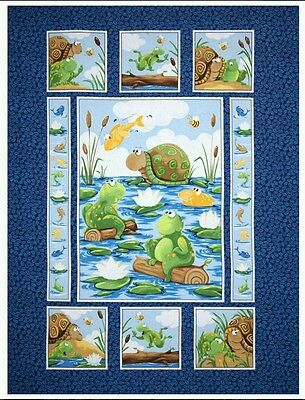 Susybee...paul And Sheldon Quilt Panel...in Stock Now...free Post....
