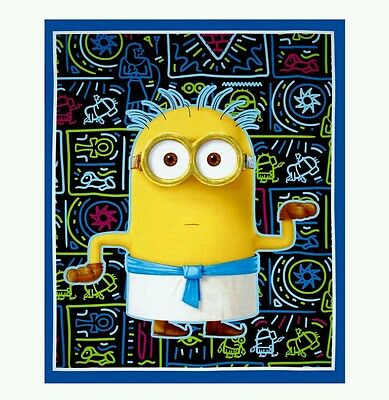 Minions - Egyptian Quilt Panel - New - In Stock - Free Post. .