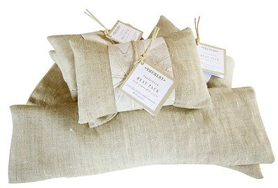 Thurlby Sandalwood Linen Heat Pack With Removable Cover.