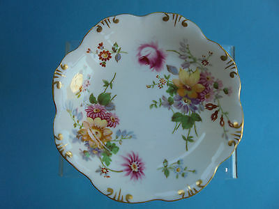 Royal Crown Derby Posies Dish Scalloped Edge Like New