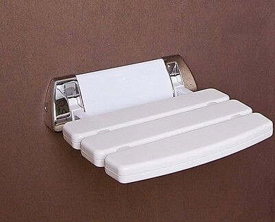 Wall Mounted Bathroom Fold up Shower Seat | holds upto 160KG