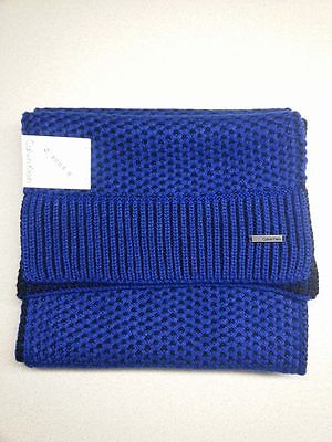 CALVIN KLEIN Men's Winter Scarf - Blue & Black