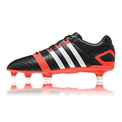 Adidas Ff80 Xtrx Sg 2 Homme Rouge Noir Sport Baskets Rugby Chaussures Crampons