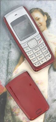 New!! Red Housing / Fascia / Cover / Case for Nokia 1110 / 1110i / 1112
