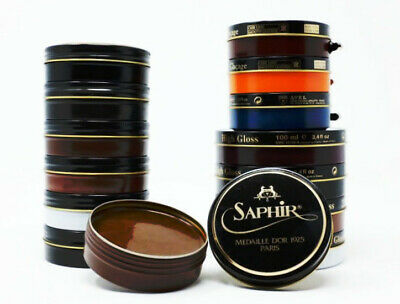 Saphir Medaille d'Or 1925 Shoe Polish Wax - All Colors - Authorized USA Reseller