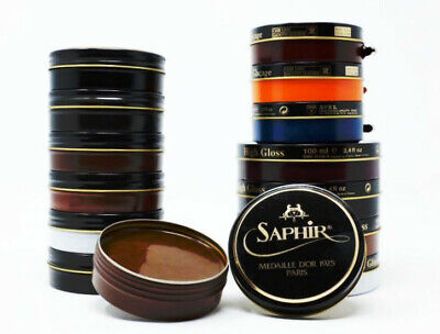 Saphir Medaille d'Or Pate de Luxe Shoe Polish Wax - All Colors