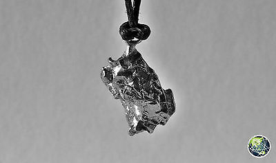 METEORITE CAMPO DEL CIELO - NECKLACE WITH PENDANT / COLLANA CON CIONDOLO, 4.7 g