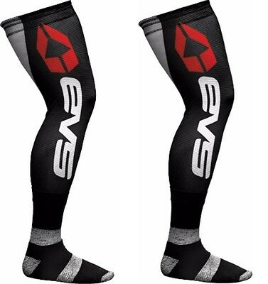 EVS Fusion Motorcycle Boot Socks - Knee Brace Liners - Adult Large/XL