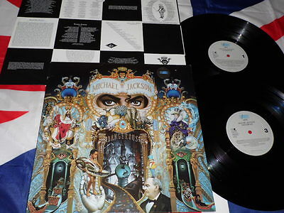 Michael Jackson Dangerous - 2 LP + Inner Press 1991 Epic Originale