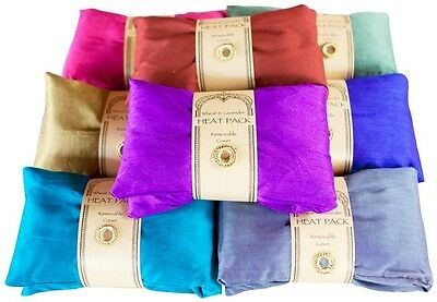 Thurlby Wheat & Lavender Coloured Heat Pack With Removable Cover.