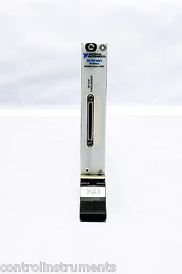 National Instruments NI PXI-6251 16-Bit, 1 MS/s (Mch), 1.25 MS/s (1-Ch) 16 An In