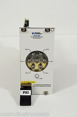 National Instruments NI PXI-2597 26.5 GHz 6x1 Terminated Multiplexer (SP6T)