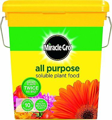 Miracle Gro All Purpose Soluble Plant Food 2 kg Tub Gardener Plants More Blooms