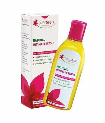 6 Pack 100 ml Natural Intimate Wash Vagina Hygiene Care Relief Gel Free Shipping
