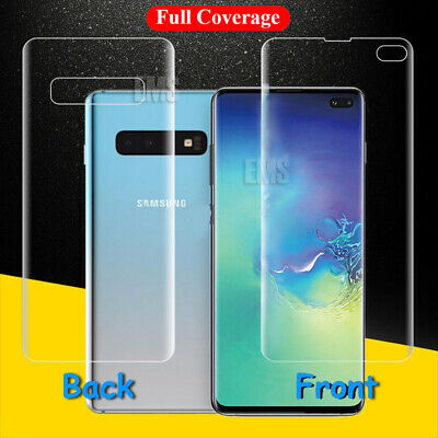 Full Cover Screen Protector Guard Samsung Galaxy S7 Edge S8 S9 S10 Plus Note 8 9