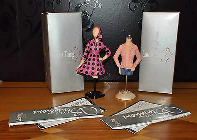 2 X Brand New The Latest Thing Collectible Figures: Dolce Vita And Mix & Match