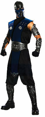 Halloween LifeSize MORTAL KOMBAT SUBZERO ADULT MEN Costume Haunted House