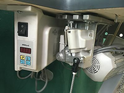 Silent Motor With Synchronised Needle Position For Walking Foot Sewing Machines