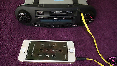 VW Volkswagen Beetle stereo Radio 1C0035157d AUX ipod extenal audio input