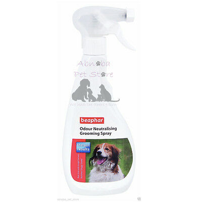 Beaphar Odour Neutralising Grooming Spray 500ml Non Toxic Instant Results Dog