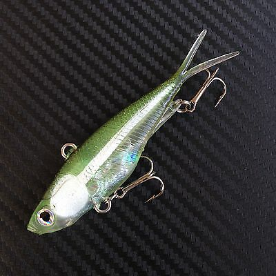 Mullet Transam Lures 95mm 20g Soft Vibe Fishing Lure Thready Lures Barra Bait 2