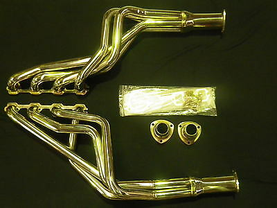 Ford Xr/xy Fairlane Za/zd 289 /302 Windsor Stainless Extractors Factory Second