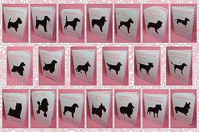 Brother ScanNCut Top Dogs silhouette card templates CD1015