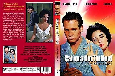 Cat On A Hot Tin Roof,1958 (DVD,All,Sealed,New) Richard Brooks, Elizabeth Taylor