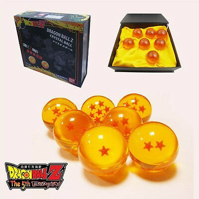 Anime DragonBall Z 3.5CM Replica Crystal Ball Set of 7pcs with Gift Box Toy Gift