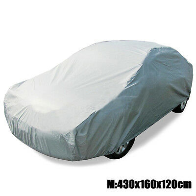 Universal Sun UV Resistant Full Car Cover Anti-Scratch Dust Protection M 430x160