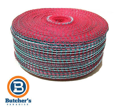 Trunet Meat Netting 150/36 Roast Green / Red And White Super Plus 11328 - 50M