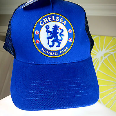 Chelsea Football Club    Truckers Cap     One Size Fits All     Isc