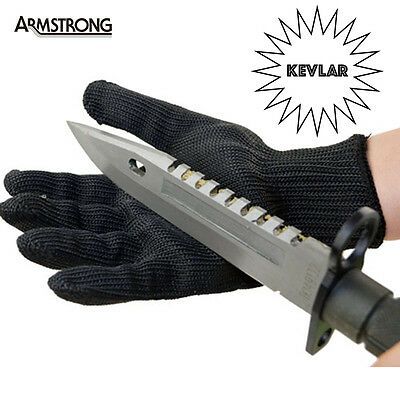 Kevlar Gloves Working Protective Cut-Resistant Anti Abrasion Safety Army-Grade