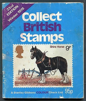 23rd Edition - 1978 - Collect British Stamps-A Stanley Gibbens Colour Check List