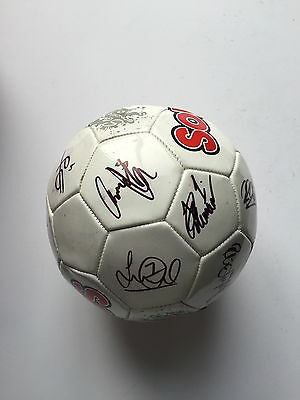 Oldham Athletic Fc  2015/16 Squad Signed Football 17 Autographs.