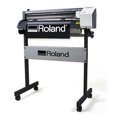 "24"" Roland GS-24 CAMM-1 Vinyl Cutter/Plotter Cutting Plus FREE Stand, Make Signs"
