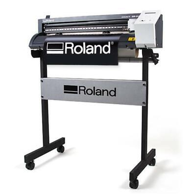 "24"" Roland GS-24 Vinyl Cutter / Cutting Plotter CAMM-1 Professional + FREE Stand"