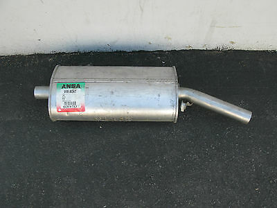 VW Cabriolet 1990-1993 Rear Left or Right Exhaust Muffler Ansa 155253609M NEW