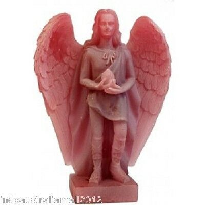 Brand New  Archangel Uriel Statue  Frosted Pink 138mm (AG008PK)