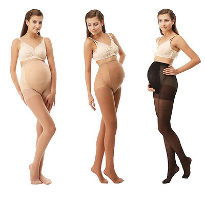 Women Ladies Maternity Pregnancy Pantyhose Legging Support Bump Tummy Stockings