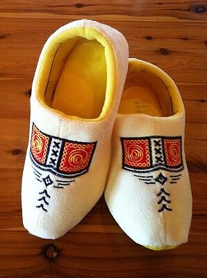 Dutch Clog Slippers / Hollanse slippers Yellow Farmer & FREE GIFT # WINTER SALE.