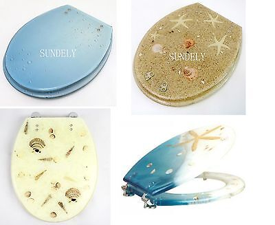 New Resin Shell Bathroom Accessories Safety Clean Toilet Seat And Cover